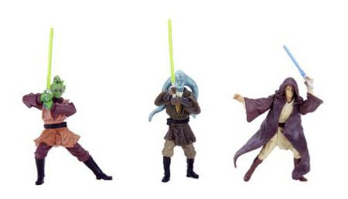 Hasbro Jedi Knight Army - Army of The Republic - Star Wars Saga Clone Wars Collection 2003