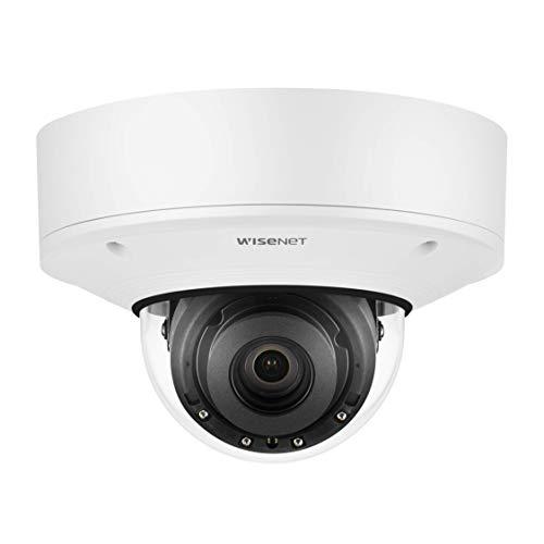 Wisenet PNV-A9081RF 4K AI Red Dome Cámara CCTV Aprendizaje Seguridad