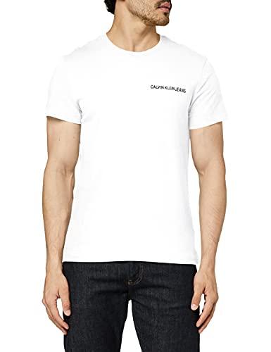 maglia uomo manica corta calvin klein Calvin Klein Chest Institutional Slim SS Tee T-Shirt