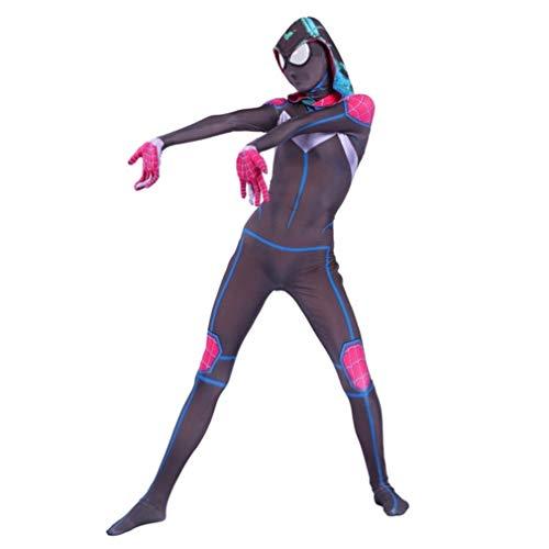Cosplay Venom Spiderman luxe filmkostuum-kleding onesies panty kinderen dames kinderen meisjes prestaties kostuum SPIDERSYBB Kids-M(110-120) Jumpsuit