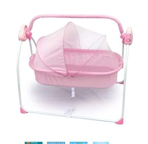 Elektrisch babywiegbed – schommelstoel slaapmand baby-bedje Smart Baby-Artefakt – comfortabele stoel, 3-traps elektrische schommeling, eenvoudig te slapen B