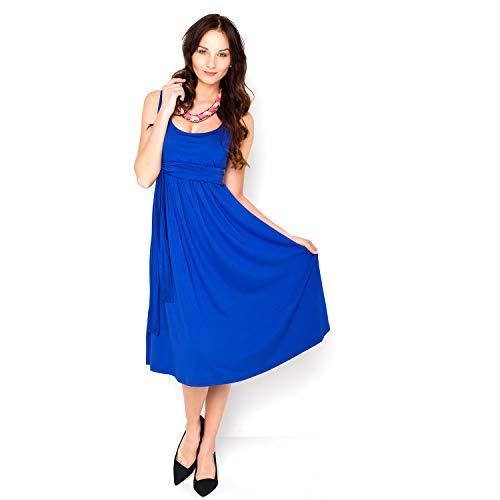 Milchshake - Basic Umstands- und Stillkleid - Verano - Kobaltblau - Größe S