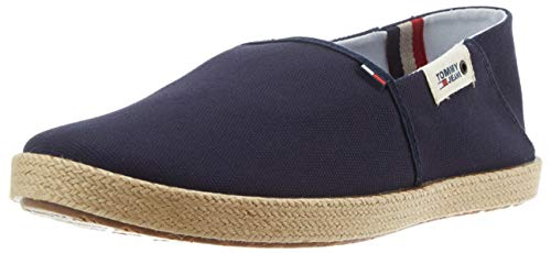 Tommy Hilfiger Tommy Jeans Summer Shoe, Mocasines para Hombre, Azul (Twilight Navy C87), 42 EU