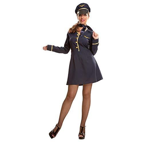 My Other MeViving Costumes Stewardess-Kostüm für Damen M-L