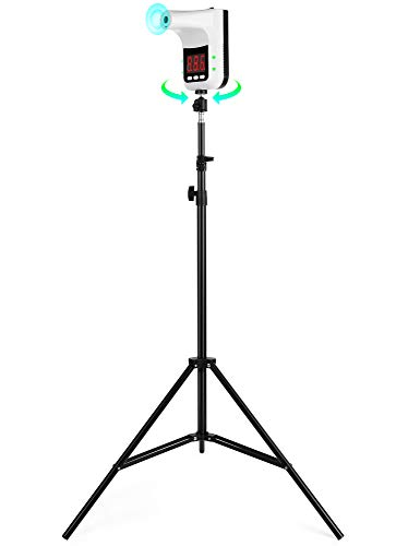 KRX Tripod for Infrared Thermometers Adjustable Portable Stand and Holder for NonContact Wall Mounted Infrared Thermometer Models K2 K3 K3 Pro Cameras and More
