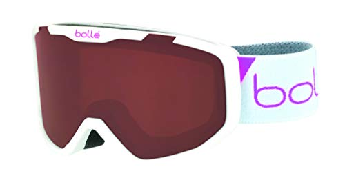 Bolle Rocket White Race Matte/Rosy Bronze Cat.3 | Small - Snow Goggles Unisex-Junior