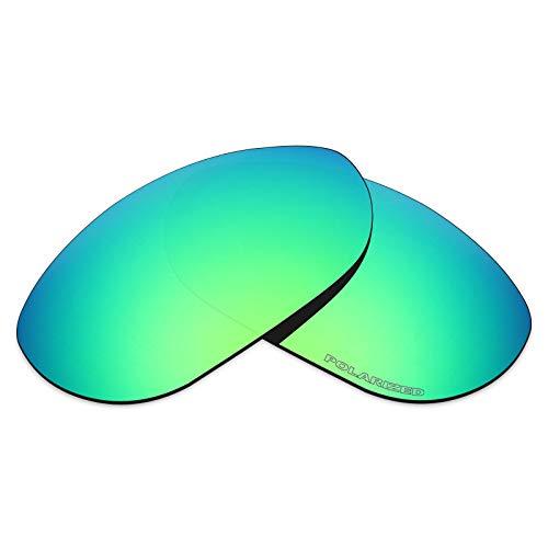 Mryok+ Polarisierte Ersatzgläser für Oakley Monster Dog - Emerald Green