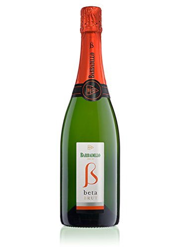 Barbadillo Beta Brut | Vino Blanco Espumoso Chardonnay y Palomino Fina - Botella de 75 cl
