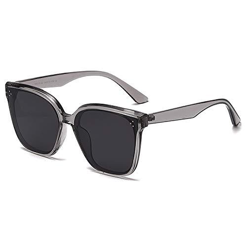 QFSLR Las Señoras Clásicas De La Moda Polarizaron Las Gafas De Sol De Los Hombres De La Protección del Marco TR90 Uv400