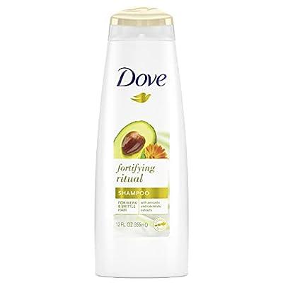 Dove Nourishing Secrets Strengthening shampoo for Damaged Hair Fortifying Rituals with Avocado and Calendula 12 oz