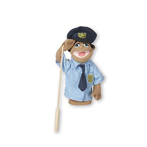 Melissa & Doug Policía| Títere para niños | Marionetas y teatros | 3+ anni