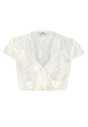 Stockerpoint Damen Dirndlbluse B-3080 Kleid für besondere Anlässe, Creme, 40