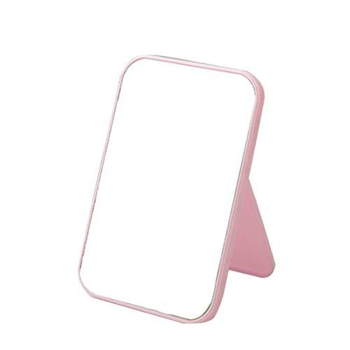 Kongqiabona-UK Portable Miroir De Maquillage Du Visage Compact Pliable De Bureau Miroir De Maquillage Femmes Beauté Outil Dresser Cosmétique Miroir