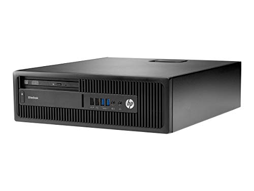 HP EliteDesk 705 G3 AMD A Pro A10-8770 8 GB DDR4-SDRAM 500 GB Unidad de Disco Duro Negro SFF PC - Ordenador de sobremesa (3,5 GHz, AMD A, 8 GB, 500 GB, DVD Super Multi, Windows 7 Professional)