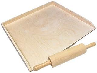 tabla de cortar cocina - grande tabla de amasar madera de haya tablero de fideos junta laboral Tabla de cortar con tope