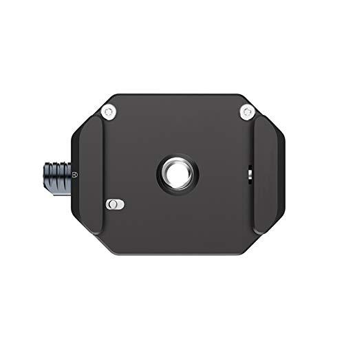 MTGJFDDFO Interruptor rápido de la Placa de liberación rápida de la Placa de liberación rápida de Gimbal Arca Universal para la cámara DSLR Trípode Accesorios de Gimbal (Color : White)