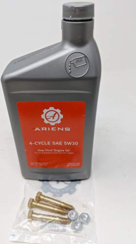 Ariens Professional Snowblower 3-Pack Shear Bolt and SAE 5W-30 Sno-Thro Engine Oil