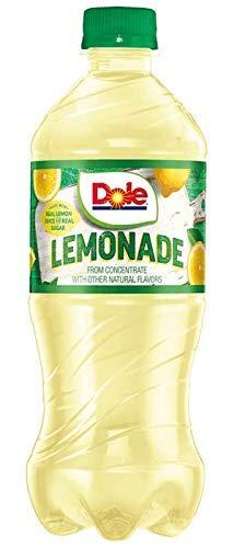 Dole lemonade 20 oz Soda Bottles (Pack of 24)
