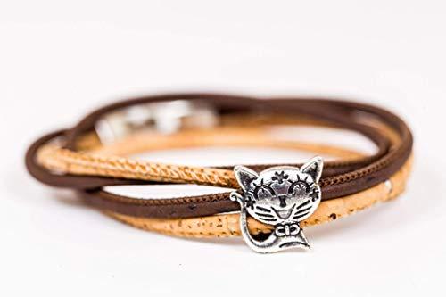 Syloschmuck ★ Wickelarmband ★ Armband★ Schmuckset★ Ring ★ Katze ★Weihnachtsgeschenk★ Handmade