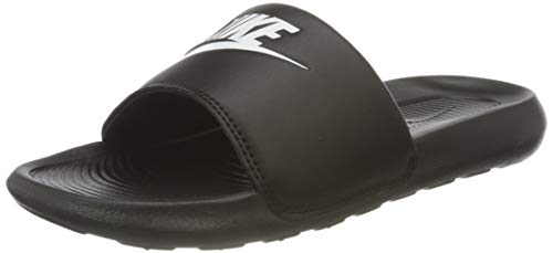 Nike W VICTORI One Slide, Zapatillas Deportivas Mujer, Black White Black, 39 EU