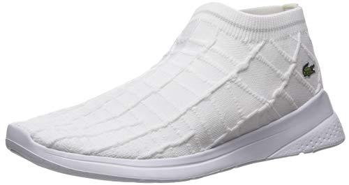 Lacoste Women's LT FIT Sneaker, white/off white, 5.5 Medium US
