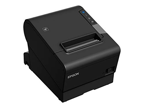 Epson C31CE94531 Epson, TM-T88VI, Thermal Receipt Printer, Epson Black, Ethernet, Bluetooth and Serial Interfaces, Ps-180 Power Supply and Ac Cable