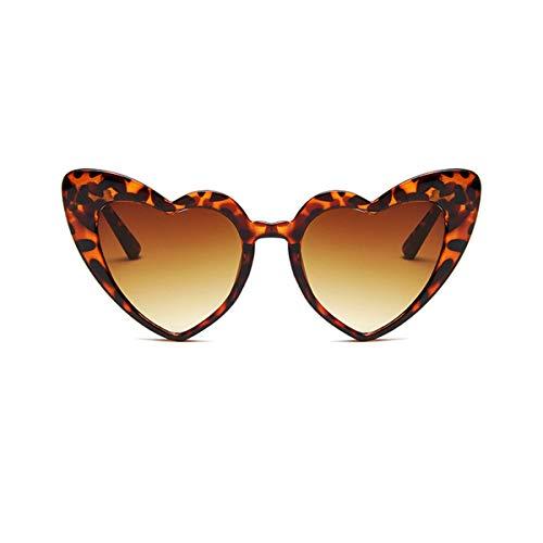 Nihlssen Gafas de Sol en Forma de corazón para Mujer, Gafas de Sol de Ojo de Gato de Lujo para Mujer, Gafas Vintage para Mujer