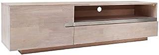 Casa Padrino Luxury Oak TV Cabinet Nature B.170 x H.46 x D.42 - Aparador - Cómoda - ¡Madera Maciza Hecha a Mano!