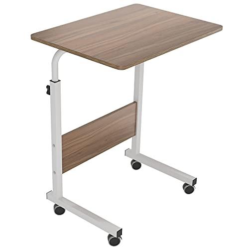 soges Table pour Ordinateur Portable roulettes Support 60 x 40 cm Table d'appoint pour Ordinateur Portable 05#1-60OK