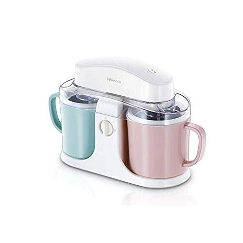 1yess Sorbetière, électrique crème glacée Gelato Yaourt glacé Sorbet Machine avec Palette de mélange et d'arrêt Automatique minuterie