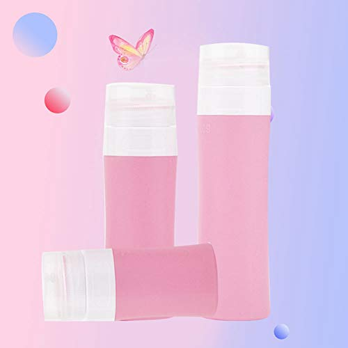 Cimenn 3pcs vide parfum huile essentielle lotion pour le visage maquillage distributeur bouteilles contenant utilisation Voyage(02)
