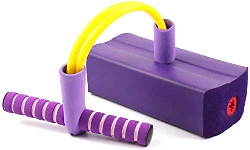 Woodtree Salto de Rana Que despide los Zapatos de jardín de Infancia de los niños de los Equipos didácticos de Fitness al Aire Libre Artículos Deportivos, Color: Rosa (Color : Purple)