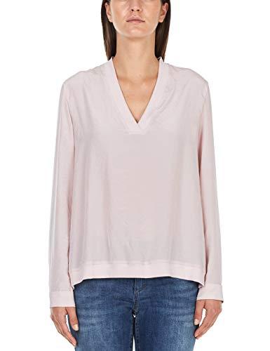 Marc Cain Sports Damen Blusenshirt Bluse, Rot (Pompeian 275), 38 (Herstellergröße:...