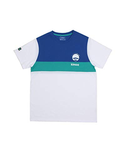 Kimoa Camiseta Mission Blue, Unisex Adulto, Azul, M