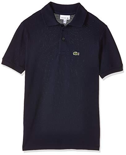 Lacoste Jungen Pj2909 Poloshirt, Blau (Marine), 14 Jahre (Herstellergröße: 14A)