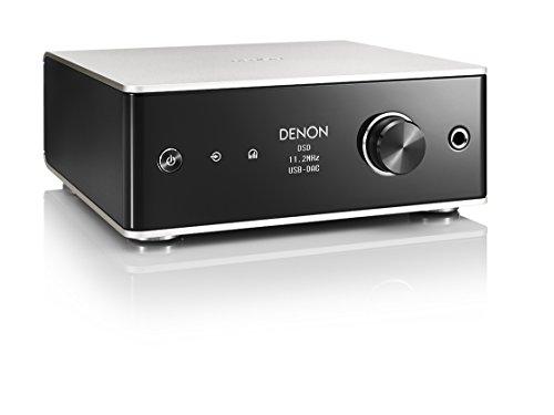 デノン Denon DA-310USB ヘッドホンアンプ USB-DAC DSD 11.2 MHz、PCM 384 kHz / 32bit ハイレゾ対応 プレミアムシルバー DA-310USBSP