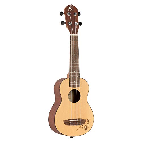 Ortega Ru5-So - Ukelele soprano, Beige (Natural)