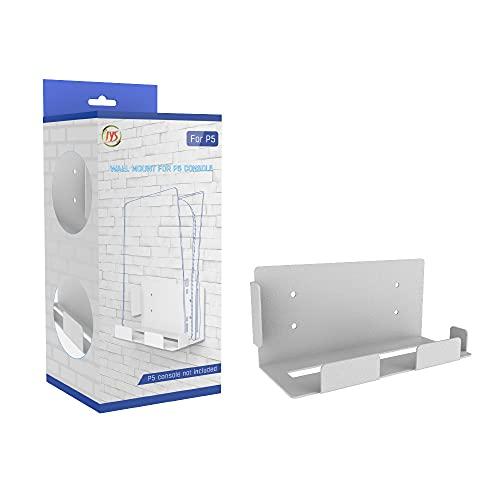 Supporto da parete per console PS5, Select Zone PS5, compatibile con console PS5, supporto da parete con prese d'aria   1 cacciavite   4 viti di espansione   4 viti