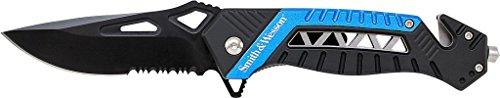 S&W Rettungsmesser, blau, Clip Rettungsmesser