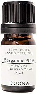 ベルガモット FCF 5 ml (COONA エッセンシャルオイル アロマオイル 100%天然植物精油)
