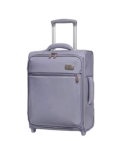 """it Girl 18.7"""" Duet 2 Wheel Lightweight Carry On, Orchid, One Size"""
