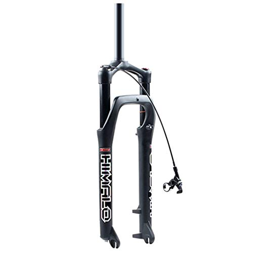 MZP Aire Horquilla Suspensión para Bicicleta Aleación Aluminio Cerradura del ABS para Neumáticos 4.0