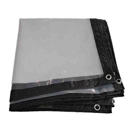 ANUO Clear Tarpaulin Tarp Lichtgewicht Waterdichte Grondplaat Cover Grote waarde