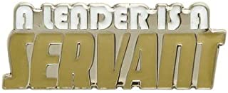 Pack of 50 A Leader is a Servant Lapel Pins