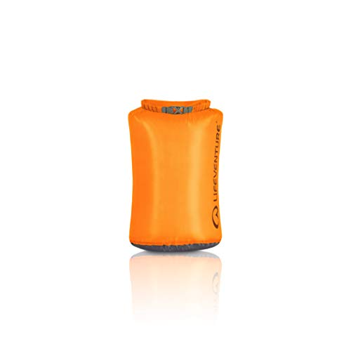 Lifeventure 59640 Ultralight Dry Bag-15L Unisex-Adult, Orange