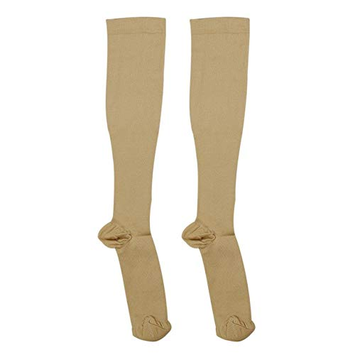 abbybubble Hombres Mujeres Medias cómodas Slim Fit Relief Soft Unisex Anti-Fatigue Compression Stocking Shaping Stocking