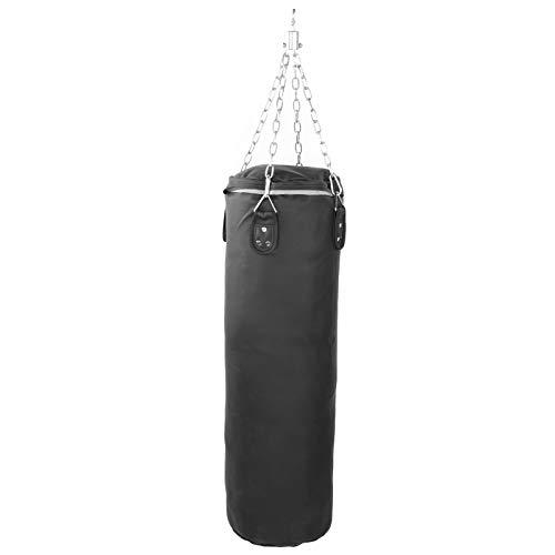 XINMYD Saco de Arena, Saco de Boxeo vacío Relleno Sacos de Arena Colgantes para el hogar PU de Alta Resistencia para Entrenamiento de Fuerza Fitness