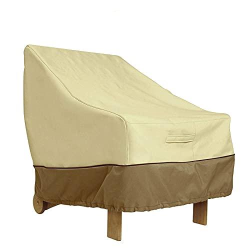 Protección de Muebles de Patio Muebles Duraderos Impermeables Funda de Sofá Silla Dibiao Patio Lounge Funda de Silla Protege Tus Muebles del Polvo Sol para Mesa Y Sillas Conjunto