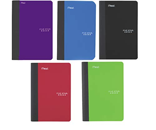 Five Star College Ruled Composition Notebook Yellow