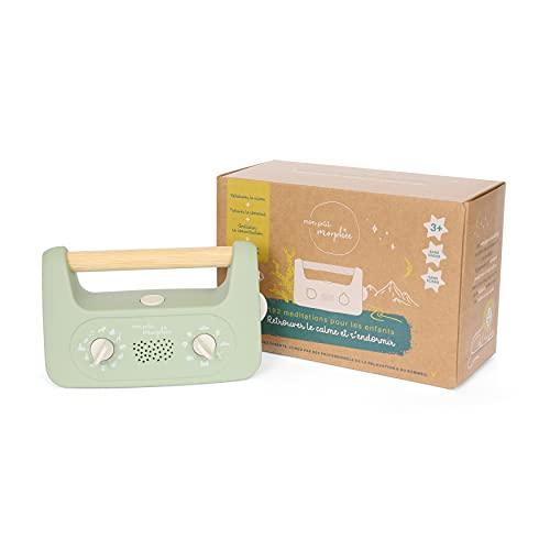Mon Petit Morphée – Box meditazione per bambini, regalo ideale per compleanno, per bambini e bambine da 3 a 10 anni, rilassamento e sostegno al sonno, vista in TV